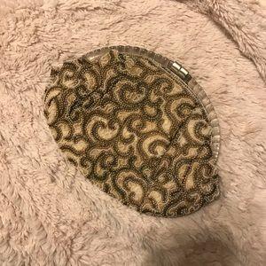 Hand beaded small bag